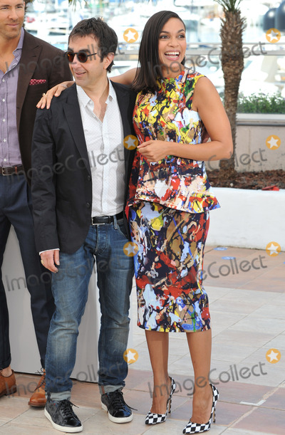 """Atom Egoyan, Rosario Dawson Photo - Rosario Dawson & director Atom Egoyan at the photocall for their movie """"Captives"""" at the 67th Festival de Cannes.May 16, 2014  Cannes, FrancePicture: Paul Smith / Featureflash"""