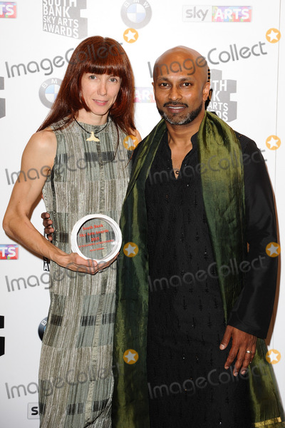 Akram Khan, Sylvie Guillem Photo - Dancers Sylvie Guillem & Akram Khan attends the South Bank Sky Arts Awards 2015 at the Savoy Hotel, London.