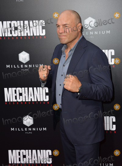 """Randy Couture Photo - LOS ANGELES, CA. August 22, 2016: Actor Randy Couture at the Los Angeles premiere of """"Mechanic: Resurrection"""" at the Arclight Theatre, Hollywood.Picture: Paul Smith / Featureflash"""