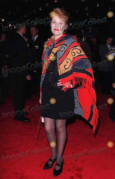 "Lynn Redgrave Photo - 12MAR98:  Actress LYNNE REDGRAVE at the world premiere of ""Primary Colors,"" in Hollywood"