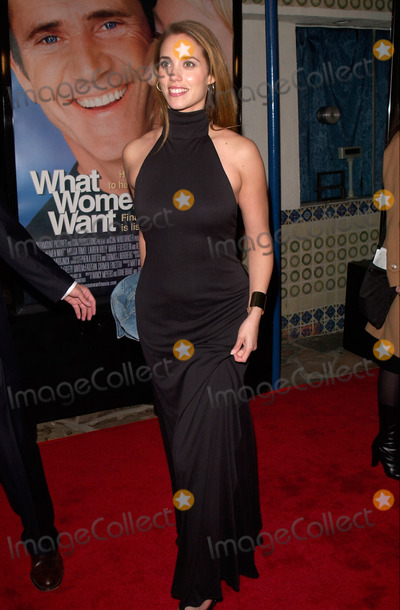 Photo - Actress ELIZABETH BERKELEY at the world premiere, in Los Angeles, of What Women Want.