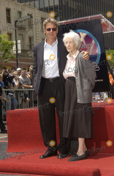 Photos and Pictures - Actor HARRISON FORD & mother on ...
