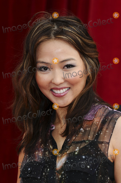 Elizabeth Tan Photo - Elizabeth Tan arrives at the British Soap awards 2011 held at the Granada Studios, Manchester.