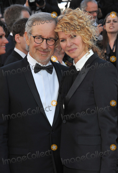 "Kate Capshaw, Steven Spielberg, Cannes Jury Photo - Cannes Jury president Steven Spielberg & wife Kate Capshaw at the gala premiere for ""Venus in Fur"" in competition at the 66th Festival de Cannes.