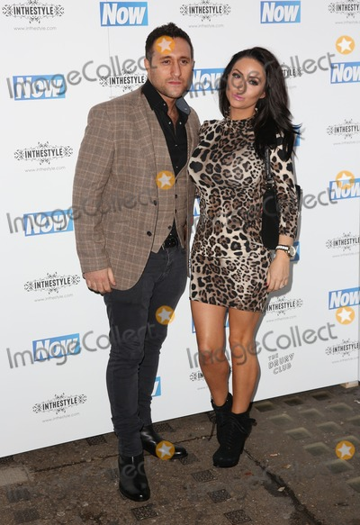 Antony Costa, James Smith Photo - Antony Costa, Rosanna Jasmin attending the Now Magazine Christmas Party at the Drury Club - ArrivalsLondon. 25/11/2014 Picture by: James Smith / Featureflash