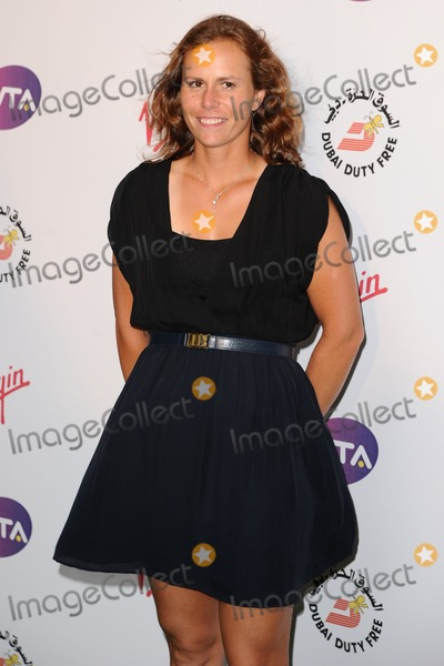 Photo - Barbora Zahlavova Strycova arriving for the 2012 WTA Pre-Wimbledon Party at the Roof Gardens in Kensington, London. 21/06/2012 Picture by: Steve Vas / Featureflash