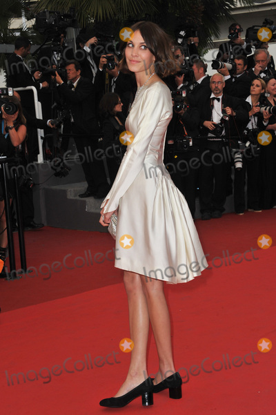 "Alexa Chung Photo - Alexa Chung at the premiere of ""Sleeping Beauty"" in competition at the 64th Festival de Cannes.