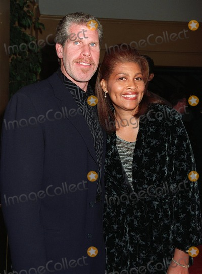 "Ron Perlman Photo - 20NOV97:  Actor RON PERLMAN & wife at premiere of his new movie, ""Alien Resurrection,"" in Los Angeles."
