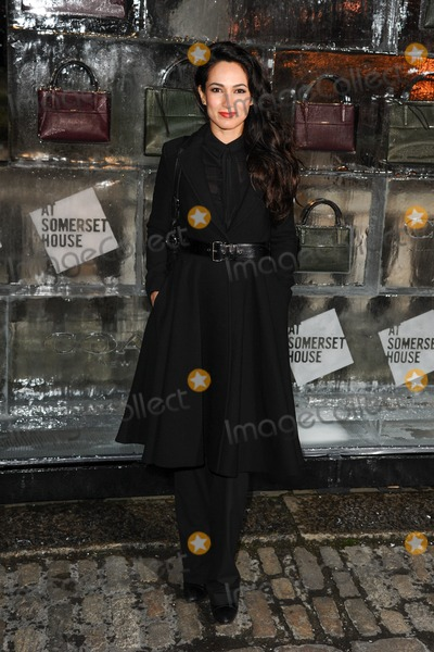 Asli Bayram Photo - Asli Bayram arriving for the opening of the Somerset House Ice Rink 2013, London 14/11/2013 Picture by: Steve Vas / Featureflash