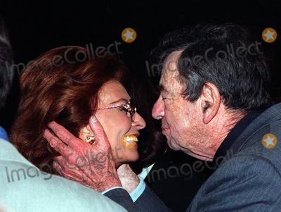 "Sophia Loren, Walter Matthau Photo - 06APR98:  Actor WALTER MATTHAU & actress SOPHIA LOREN at the premiere of his new movie, ""The Odd Couple II,"" in Hollywood."