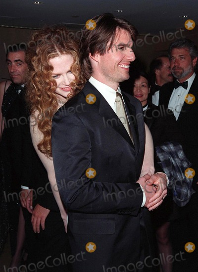 John Huston, Nicole Kidman, Tom Cruise, The Artist Photo - 17APR98:  Actor TOM CRUISE & actress wife NICOLE KIDMAN at the Beverly Hilton Hotel where he was honored with the 1998 John Huston Award by the Artists Rights Foundation.