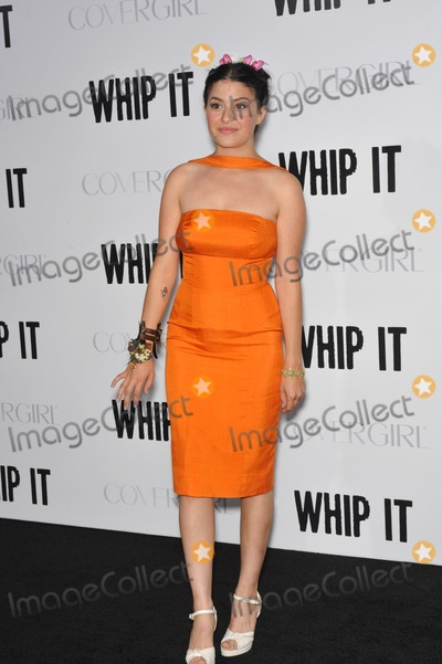"Alia Shawkat, Alias, Grauman's Chinese Theatre Photo - Alia Shawkat at the Los Angeles premiere of her new movie ""Whip It"" at Grauman's Chinese Theatre, Hollywood. September 29, 2009  Los Angeles, CA