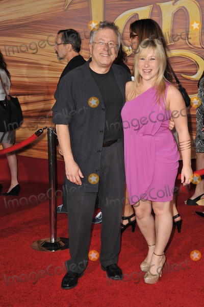 """Alan Menken Photo - Composer Alan Menken & daughter Anna at the world premiere of his new movie """"Tangled"""" at the El Capitan Theatre, Hollywood.November 14, 2010  Los Angeles, CAPicture: Paul Smith / Featureflash"""