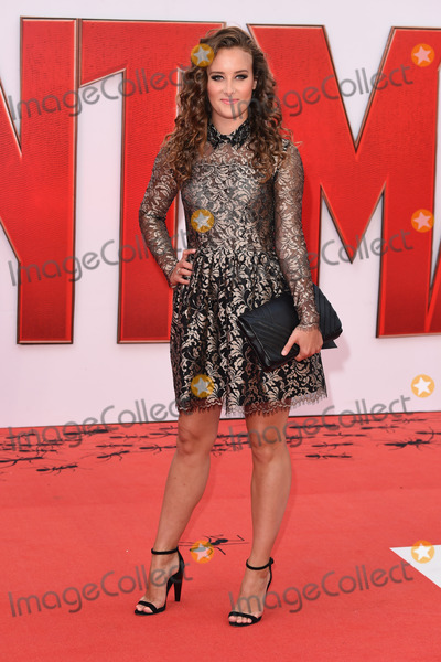 """April Pearson, Leicester Square Photo - April Pearson at the European premiere of """"Ant-Man"""" at the Odeon Leicester Square, LondonJuly 8, 2015  London, UKPicture: Steve Vas / Featureflash"""