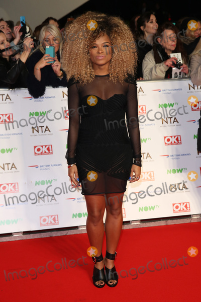 Fleur East, James Smith Photo - Fleur East at The National Television Awards 2016 (NTA's) held at the O2 Arena, London. 