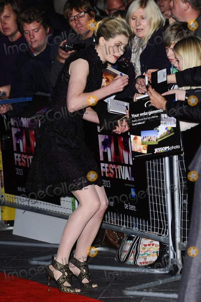 "Jodie Whittaker Photo - Jodie Whittaker arrives for the ""Hello Carter"" premiere which is being screened at the Odeon West End as part of the bfi London Film Festival 2013, London.