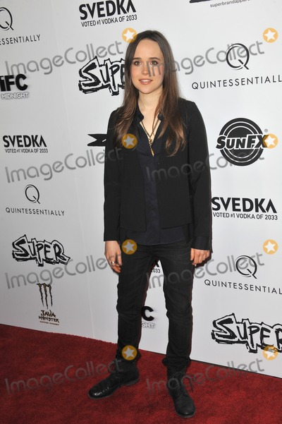 """Ellen Page Photo - Ellen Page at the Los Angeles premiere of her new movie """"Super"""" at the Egyptian Theatre, Hollywood.March 21, 2011  Los Angeles, CAPicture: Paul Smith / Featureflash"""