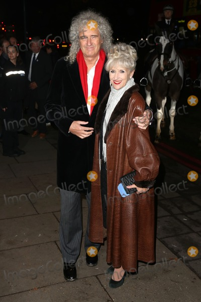Anita Dobson, Brian May, James Smith Photo - Brian May, Anita Dobson arriving RSPCA Animal Hero Awards 2014 - Arrivals London. 26/11/2014 Picture by: James Smith / Featureflash