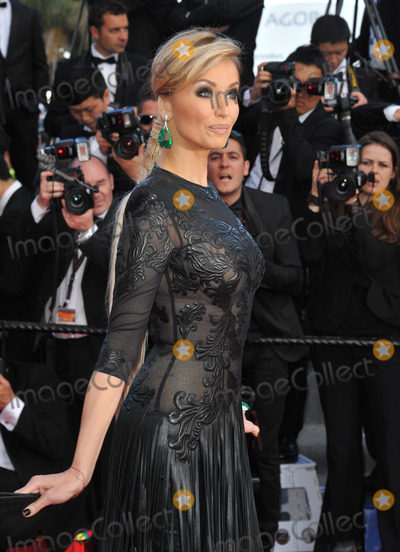 """Adriana Karembeu Photo - Adriana Karembeu at gala premiere for """"Behind the Candelabra"""" at the 66th Festival de Cannes.May 21, 2013  Cannes, FrancePicture: Paul Smith / Featureflash"""