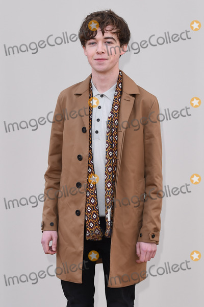 Alex Lawther Photo - Alex Lawther arriving at the Burberry Prorsum show during The London Collections Menswear A/W 2016 at Kensington Gardens, London.January 11, 2016  London, UKPicture: Steve Vas / Featureflash