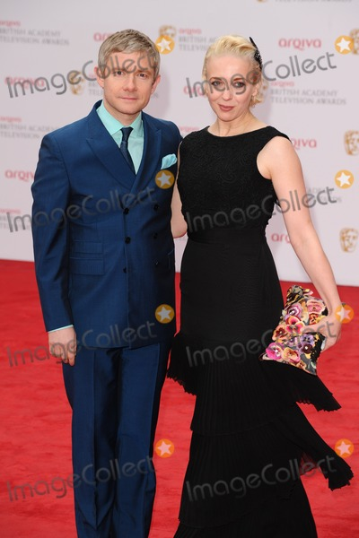 Amanda Abbington, Martin Freeman Photo - Martin Freeman and wife, Amanda Abbington arriving for the TV BAFTA Awards 2013, Royal Festival Hall, London. 12/05/2013 Picture by: Steve Vas / Featureflash