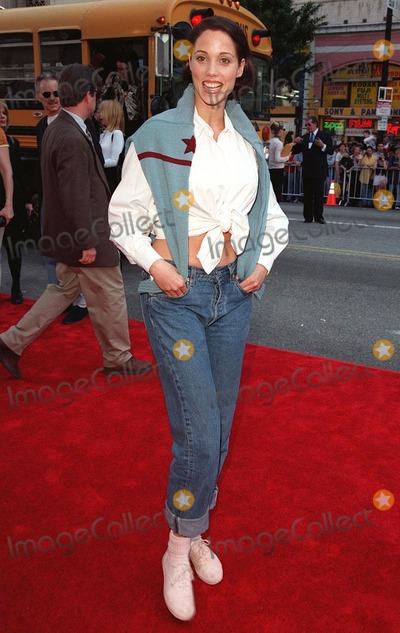 "Elizabeth Berkley Photo - 15MAR98:  Actress ELIZABETH BERKLEY at 20th anniversary re-premiere of ""Grease"" at Mann's Chinese Theatre, Hollywood."