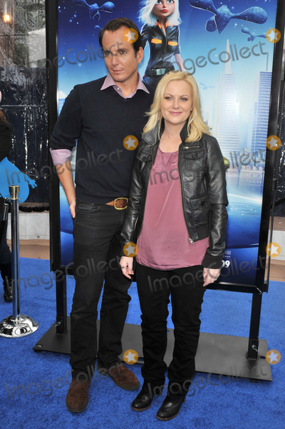 """Will Arnett, AMY POHLER Photo - Will Arnett & Amy Pohler at the Los Angeles premiere of their new movie """"Monsters vs. Aliens"""" at the Gibson Amphitheatre, Universal Studios, Hollywood.March 22, 2009  Los Angeles, CAPicture: Paul Smith / Featureflash"""