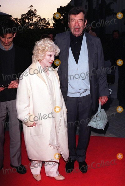 """Walter Matthau Photo - 06APR98:  Actor WALTER MATTHAU & wife CAROL at the premiere of his new movie, """"The Odd Couple II,"""" in Hollywood."""