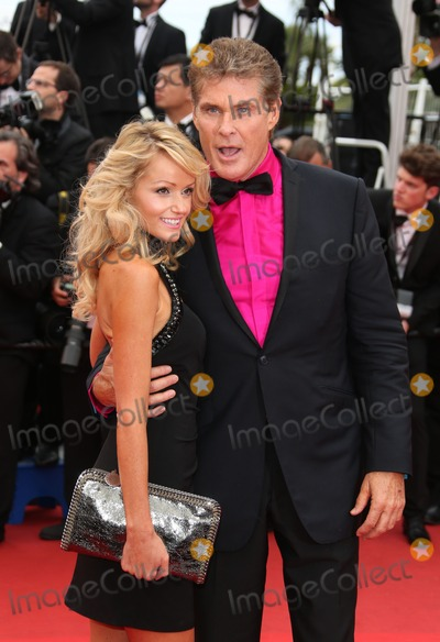 David Hasselhoff, Hayley Roberts Photo - Hayley Roberts and David Hasselhoff at the 66th Cannes Film Festival - The Bling Ring premiere