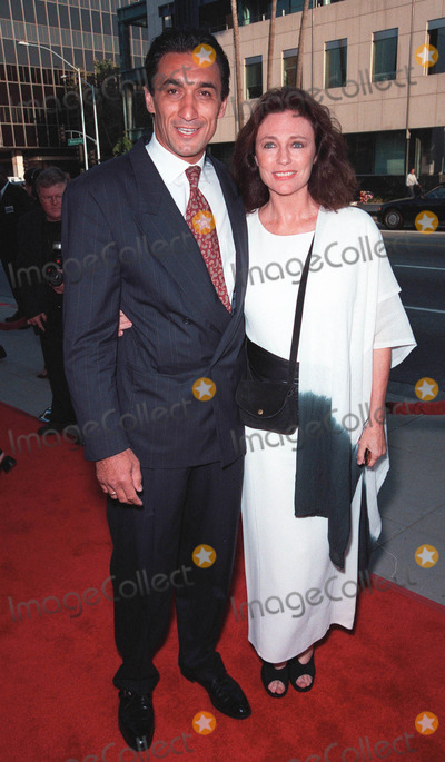 "Emin Boztepe, Jacqueline Bisset, Pierce Brosnan, Rene Russo, RENEE RUSSO Photo - 27JUL99:  Actress JACQUELINE BISSET & boyfriend EMIN BOZTEPE at the world premiere, in Beverly Hills, of ""The Thomas Crown Affair"" which stars Pierce Brosnan & Rene Russo.