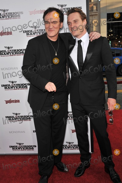 Photos and Pictures - Director Quentin Tarantino (left) & Michael