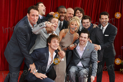 Carley Stenson Photo - Carley Stenson and Hollyoaks Boys arrives at the British Soap awards 2011 held at the Granada Studios, Manchester.