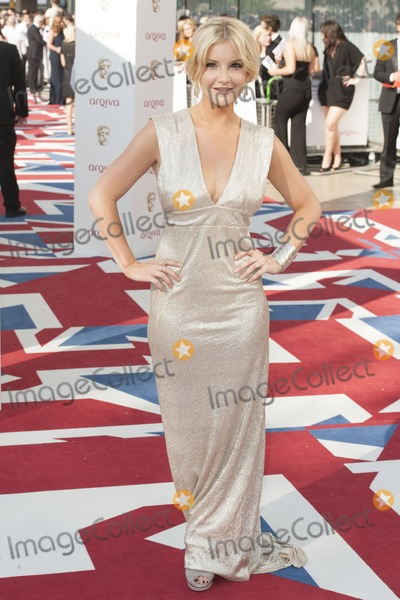 Helen Skelton Photo - Helen Skelton arriving  for the 2012 BAFTA Television Awards