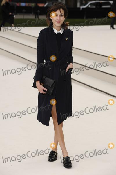 Alexa Chung Photo - Alexa Chung arriving for the Burberry Prorsum fashion show as part of London Fashion Week 2012 A/W in Kensington Gardens, London. 20/02/2012 Picture by: Steve Vas / Featureflash