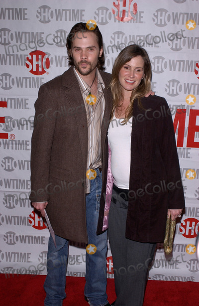 "Barry Watson Photo - February 23, 2005: Los Angeles, CA: BARRY WATSON & wife at the premiere of ""Fat Actress"" at the Cinerama Dome, Hollywood