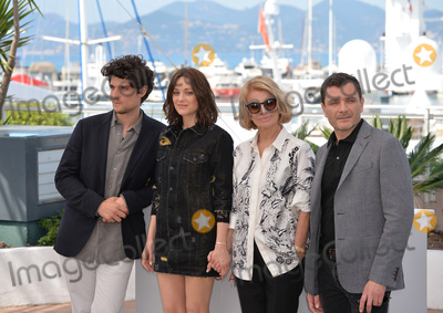 """Louis Garrel, Marion Cotillard, Nicole Garcia, Alex Brendemuhl Photo - Actors Marion Cotillard, Louis Garrel, Alex Brendemuhl & director Nicole Garcia at the photocall for """"From the Land of the Moon"""" (""""Mal de Pierres"""") at the 69th Festival de Cannes.May 15, 2016  Cannes, FrancePicture: Paul Smith / Featureflash"""