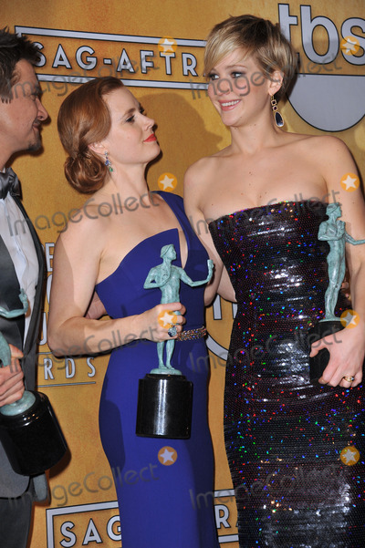 Amy Adams, Jennifer Lawrence Photo - Amy Adams & Jennifer Lawrence at the 20th Annual Screen Actors Guild Awards at the Shrine Auditorium.January 18, 2014  Los Angeles, CAPicture: Paul Smith / Featureflash