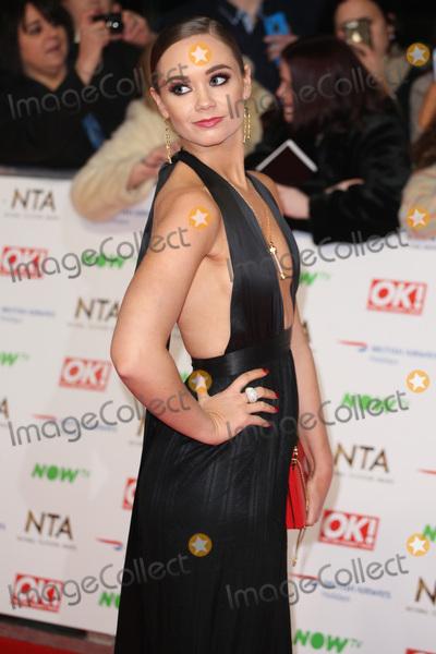 Daisy Wood-Davis, James Smith Photo - Daisy Wood Davis at The National Television Awards 2016 (NTA's) held at the O2 Arena, London. January 20, 2016  London, UKPicture: James Smith / Featureflash