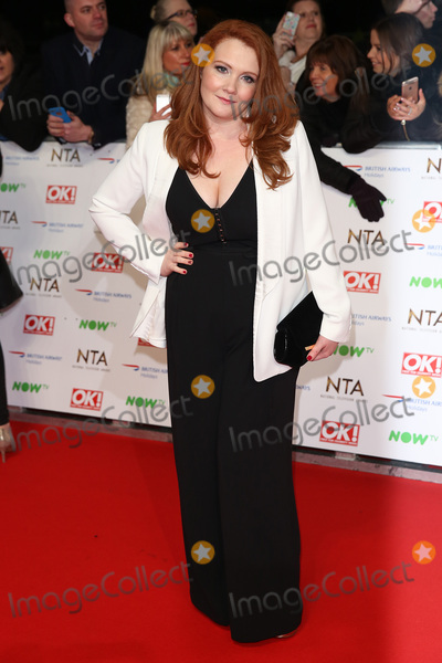 Jenny McAlpine, James Smith, The National Photo - Jenny McAlpine at The National Television Awards 2016 (NTA's) held at the O2 Arena, London. January 20, 2016  London, UKPicture: James Smith / Featureflash