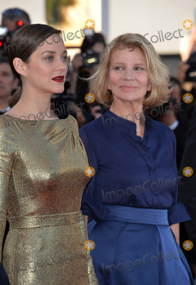 """Marion Cotillard, Nicole Garcia Photo - Director Nicole Garcia & actress Marion Cotillard at the gala premiere of """"From the Land of the Moon"""" (""""Mal de Pierres"""") at the 69th Festival de Cannes.May 15, 2016  Cannes, FrancePicture: Paul Smith / Featureflash"""