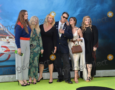 """Dan Aykroyd, Donna Dixon, TCL Chinese Theatre Photo - LOS ANGELES, CA. July 9, 2016: Actor Dan Aykroyd & wife Donna Dixon & family at the Los Angeles premiere of """"Ghostbusters"""" at the TCL Chinese Theatre, Hollywood.Picture: Paul Smith / Featureflash"""