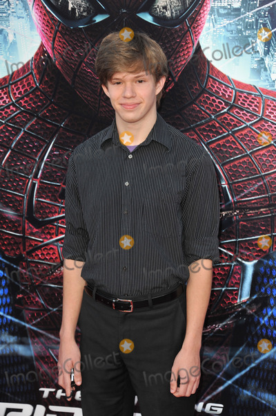 """Andy Gladbach, Spider Man, Spider-Man, Spiderman Photo - Andy Gladbach at the world premiere of his movie """"The Amazing Spider-Man"""" at Regency Village Theatre, Westwood.June 29, 2012  Los Angeles, CAPicture: Paul Smith / Featureflash"""