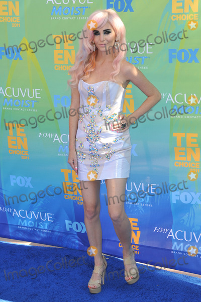 Audrey Kitching Photo - Audrey Kitching at the 2011 Teen Choice Awards at the Gibson Amphitheatre, Universal Studios, Hollywood.August 7, 2011  Los Angeles, CAPicture: Paul Smith / Featureflash