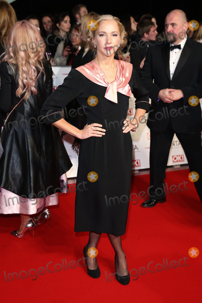 Maddie Hill, Maddy Hill, James Smith, The National Photo - Maddie Hill at The National Television Awards 2016 (NTA's) held at the O2 Arena, London. 