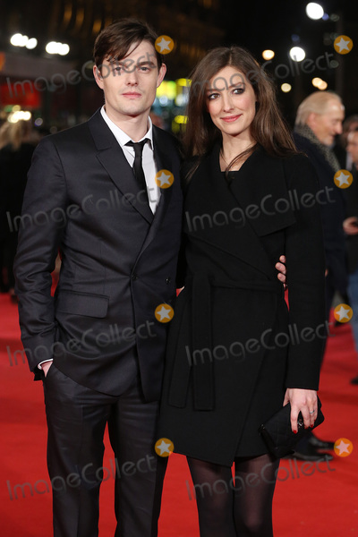 "Alexandra Maria Lara, Sam Riley, James Smith, Anna Maria Perez de Taglé, Leicester Square Photo - Sam Riley & wife Alexandra Maria Lara at the European premiere for ""Pride and Prejudice and Zombies"" at the Vue West End, Leicester Square.