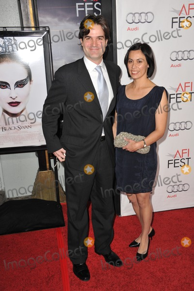"Andres Heinz, Black Swan, Andre Heinz, Grauman's Chinese Theatre Photo - Writer Andres Heinz & wife at the Los Angeles premiere of his new movie ""Black Swan"", the closing film of the 2010 AFI Fest, at Grauman's Chinese Theatre, Hollywood.