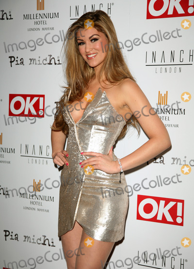 Amy Willerton, Pia Michi Photo - Amy Willerton arriving for the Pia Michi Prom wear fashion show at the Millenium Hotel, London. 15/02/2012 Picture by: Alexandra Glen / Featureflash