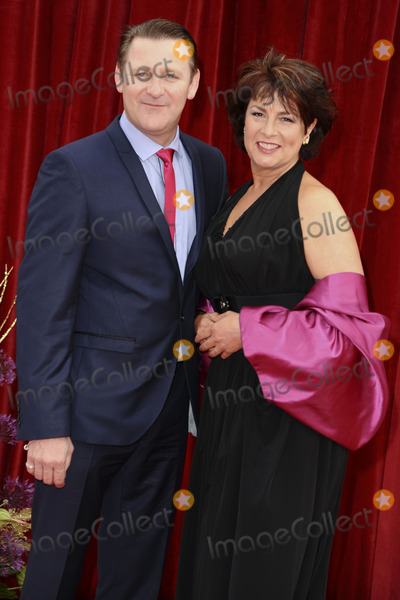 Chris Walker, Jan Pearson Photo - Chris Walker and Jan Pearson arrives at the British Soap awards 2011 held at the Granada Studios, Manchester.