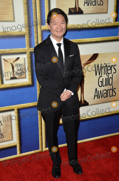 Ken Jeong Photo - Actor Ken Jeong at the 2016 Writers Guild Awards at the Hyatt Regency Century Plaza Hotel.