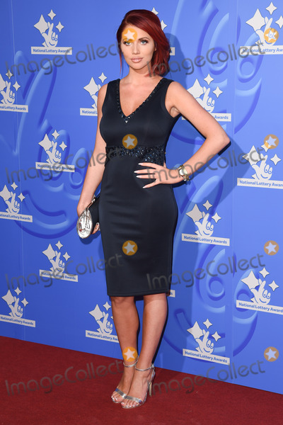 Amy Childs, The National Photo - Amy Childs at The National Lottery Awards 2015 held at the London Studios. 